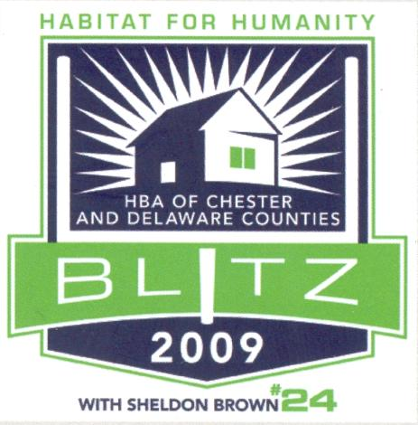 HBA 2009 Habitat for Humantity Blitz Build with Sheldon Brown