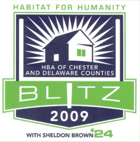 HBA 2009 Habitat for Humantity Blitz Build with Sheldon Brown