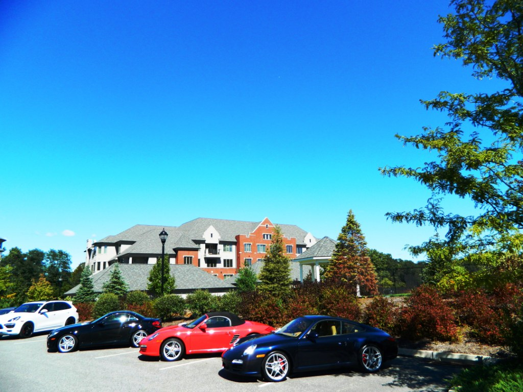 Exotic cars on display at the atheryn open house main line living